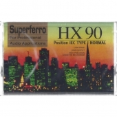 MC Leercassette HX 90 Superferro (2x45 Min.)